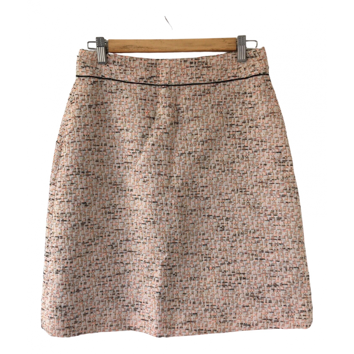 Hobbs - Jupe   pour femme en tweed - multicolore