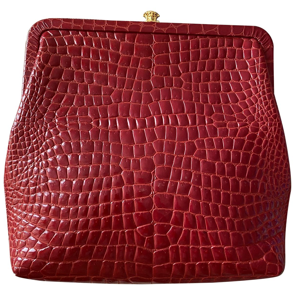 Pochette de Cuero Gianni Versace