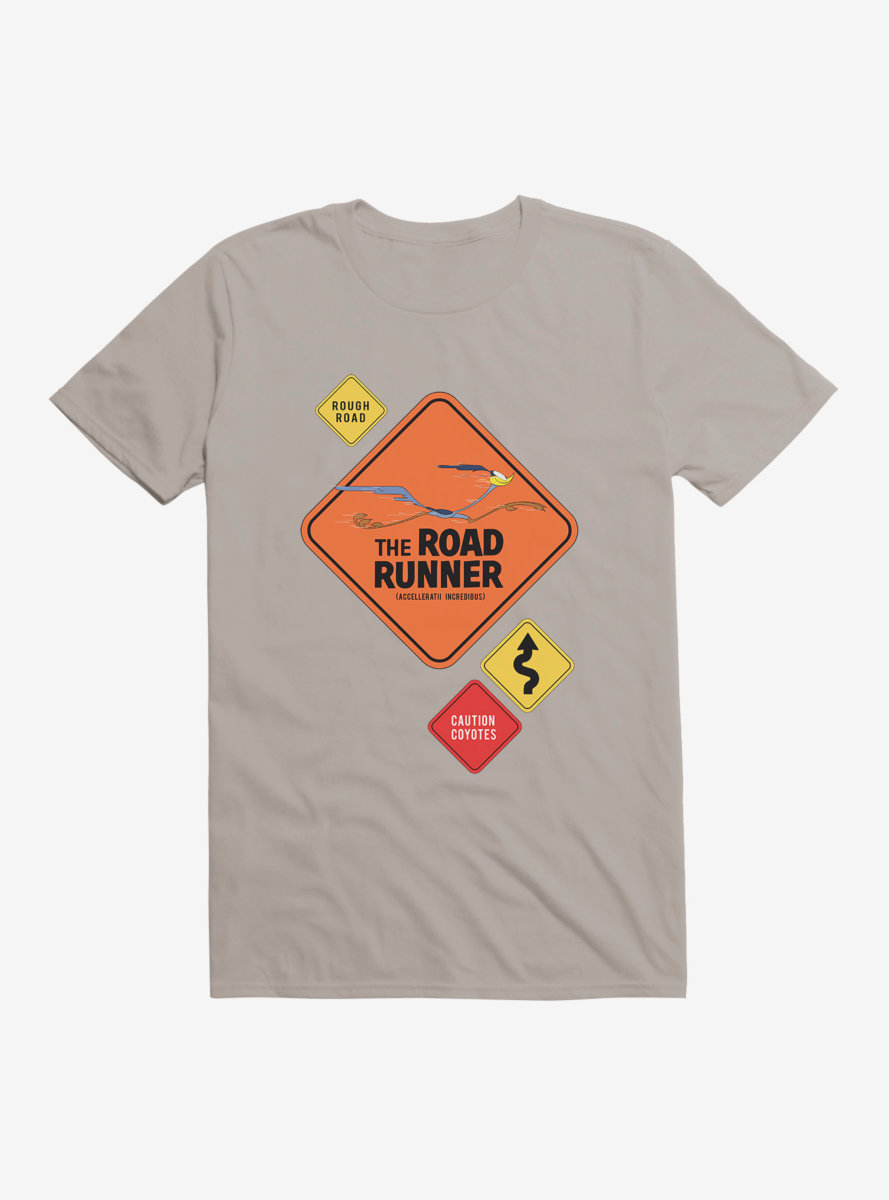 Looney Tunes Road Runner Signs T-Shirt