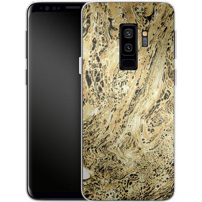Samsung Galaxy S9 Plus Silikon Handyhuelle - Marbled Sand von Amy Sia