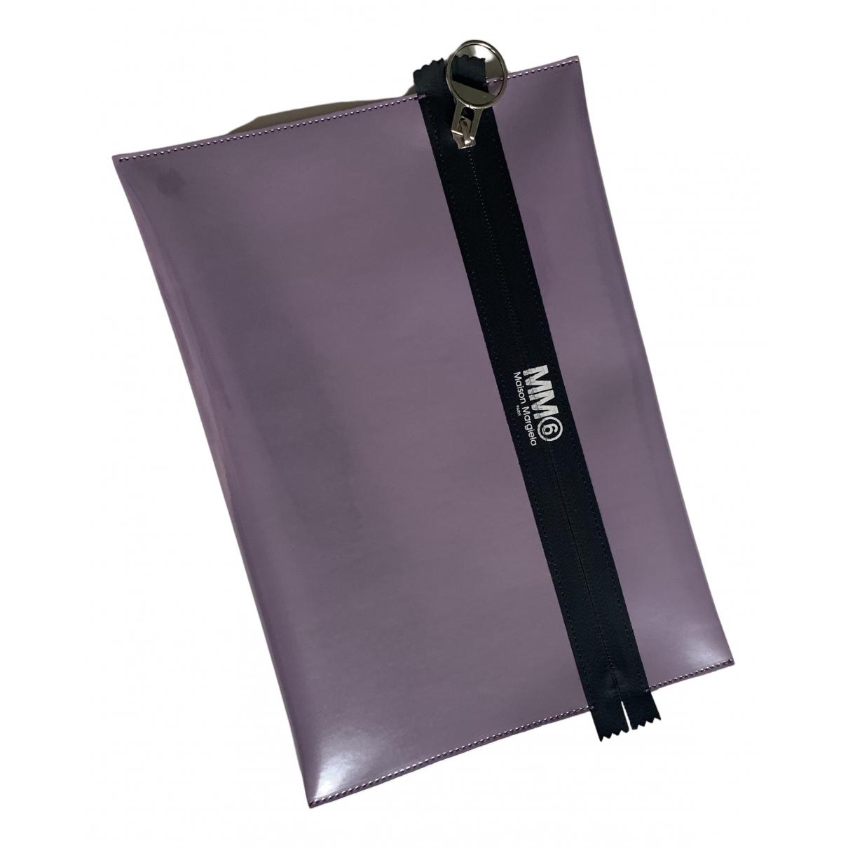 Bolsos clutch en Poliester Violeta Mm6