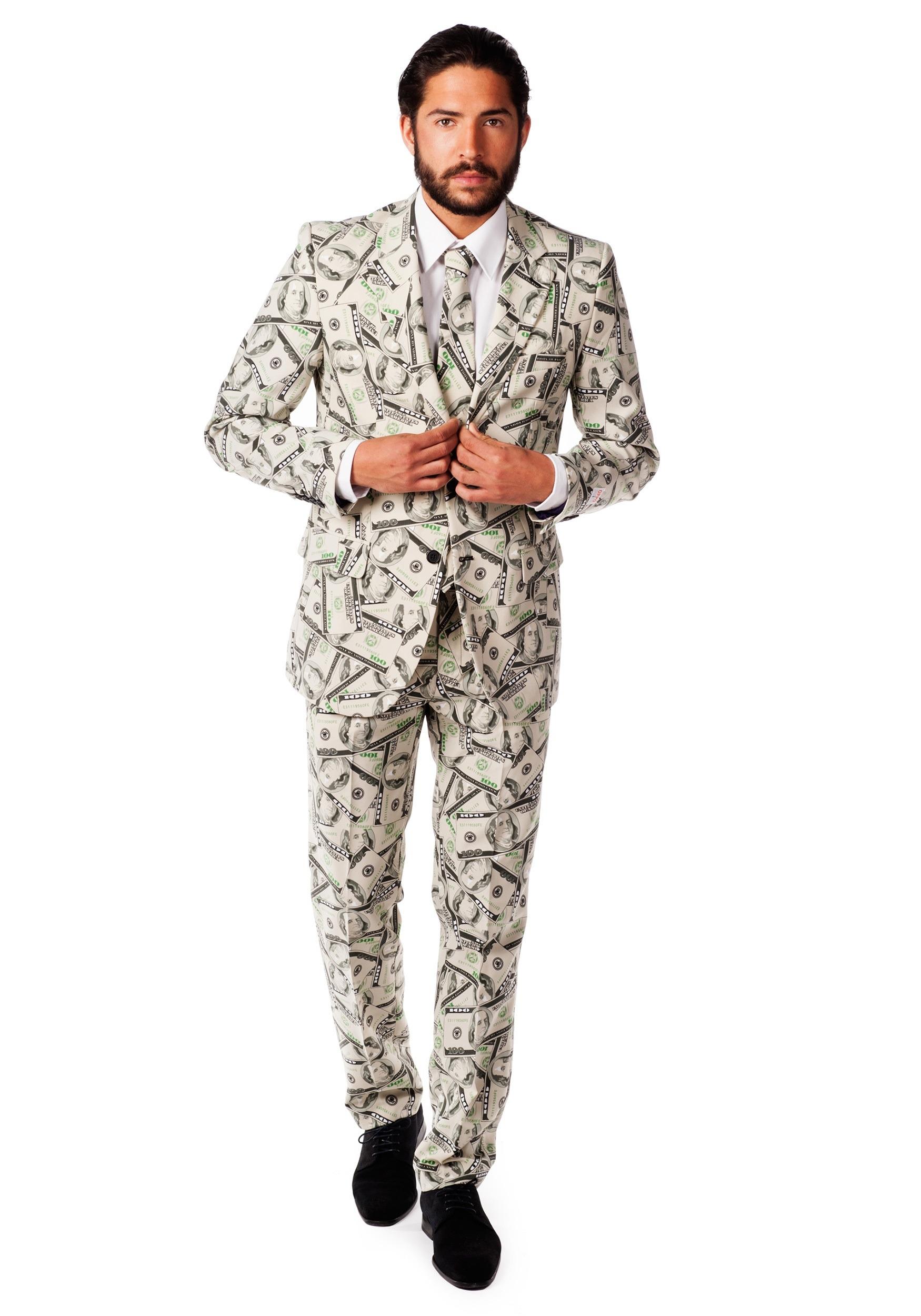 OppoSuits Money Costume Men's Suit