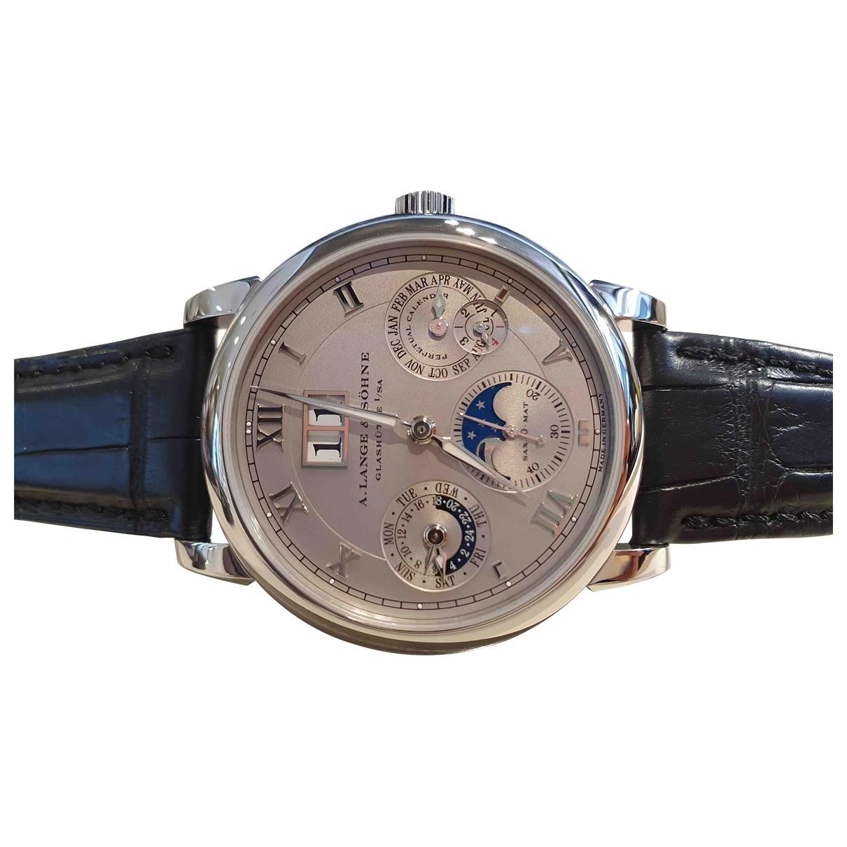 Relojes de Platino A. Lange & Sohne