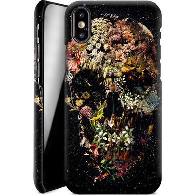 Apple iPhone X Smartphone Huelle - Smyrna Skull von Ali Gulec