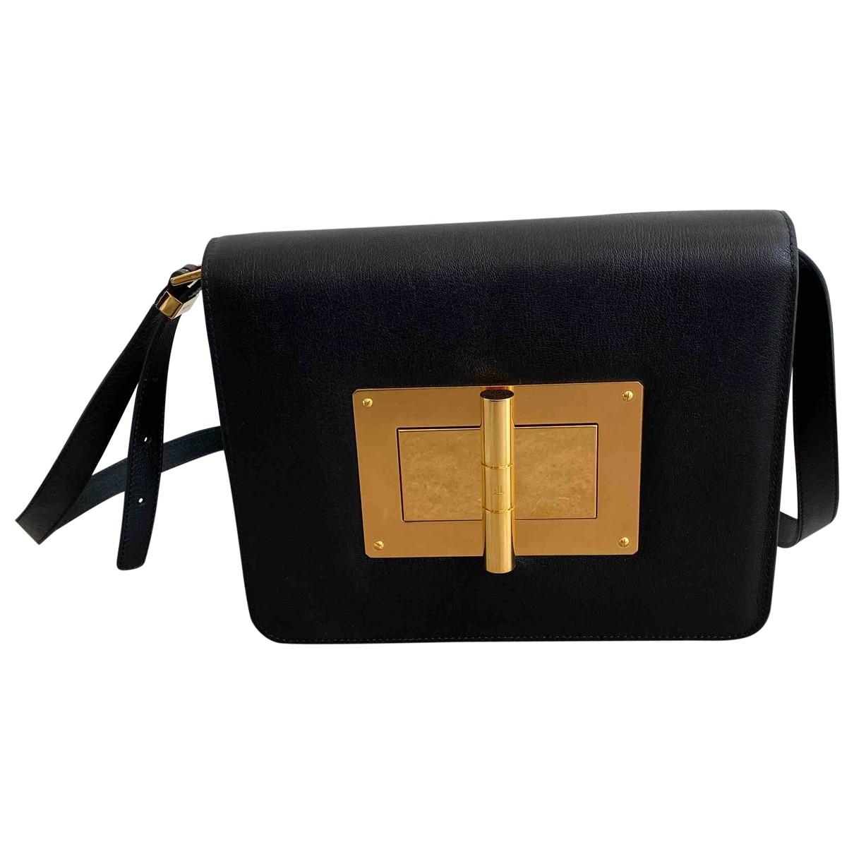 Tom Ford Natalia Black Leather handbag for Women \N