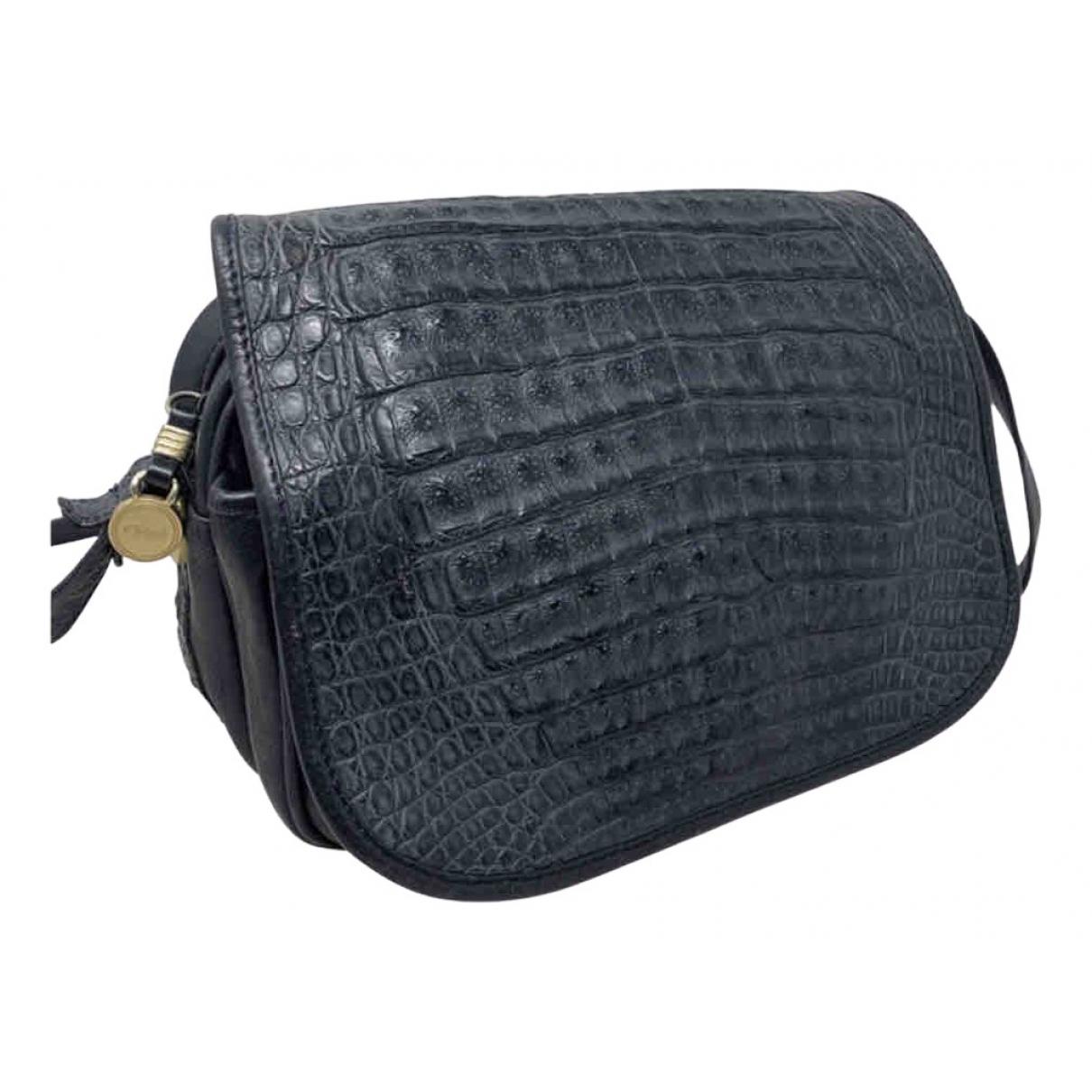 Chloé \N Blue Leather handbag for Women \N