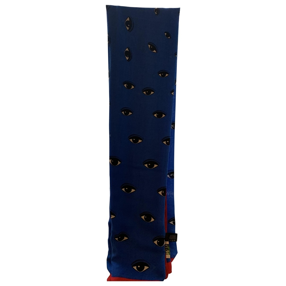 Kenzo \N Blue Cashmere scarf for Women \N
