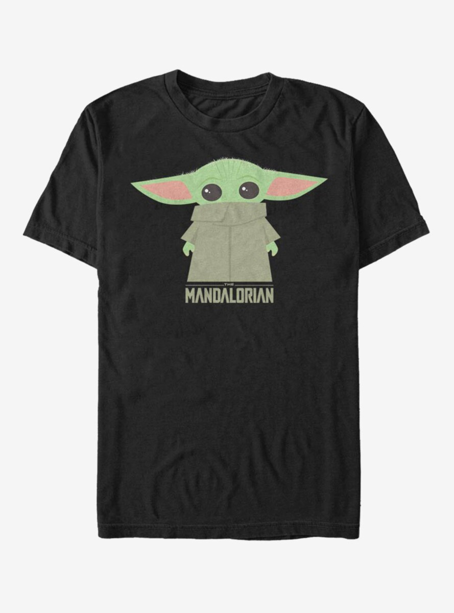 Star Wars The Mandalorian The Child Covered Face T-Shirt