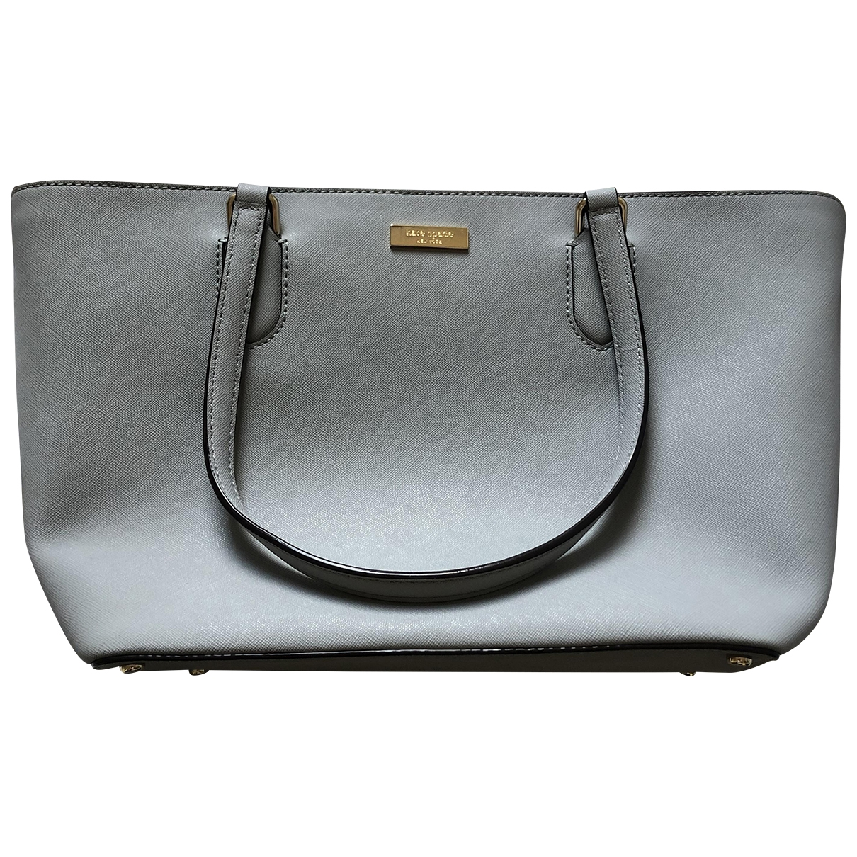 Kate Spade \N Grey Leather handbag for Women \N