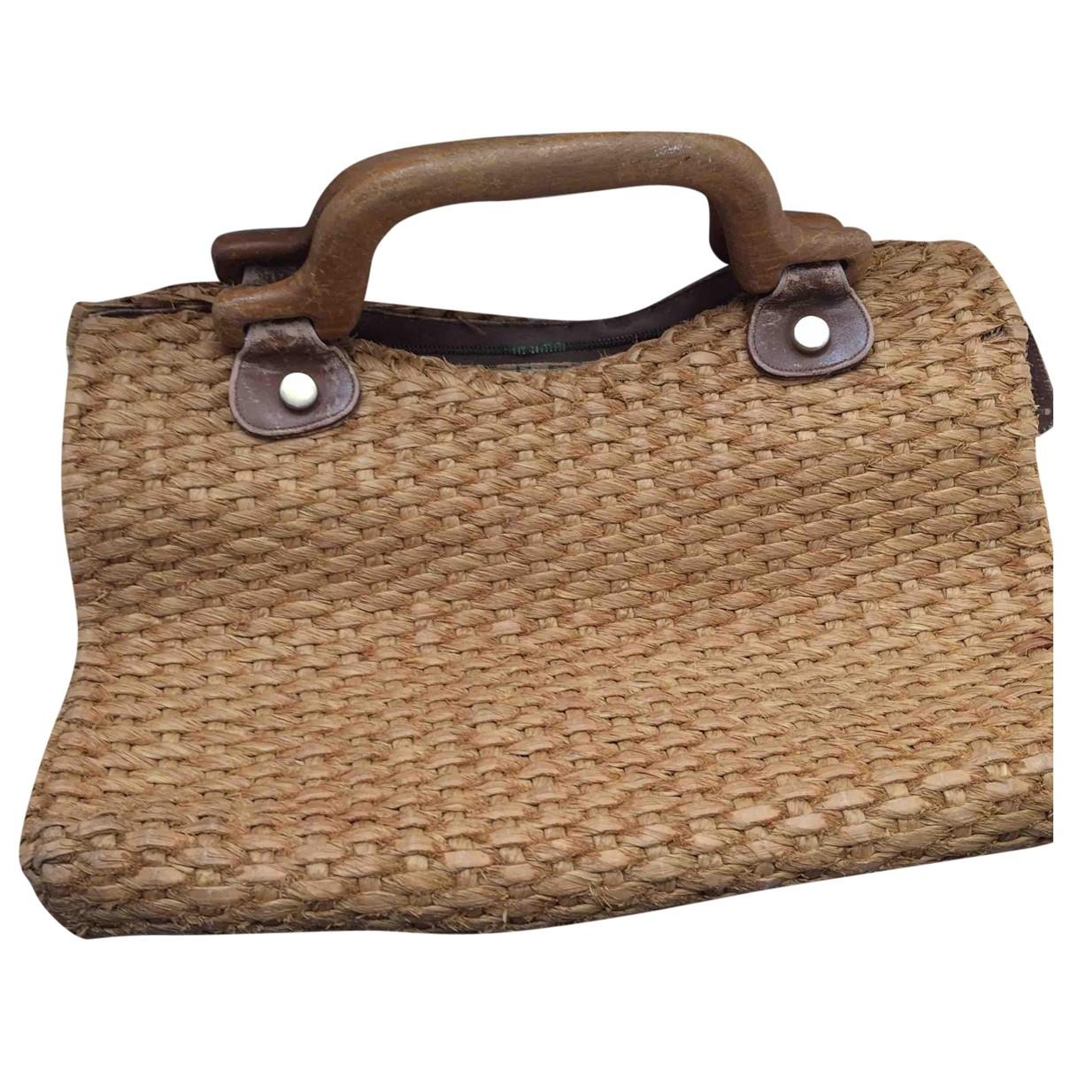Salvatore Ferragamo \N Beige Wicker handbag for Women \N