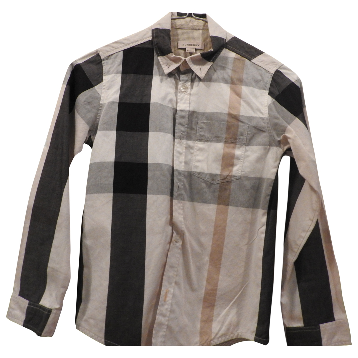 Burberry \N White Cotton  top for Kids 8 years - until 50 inches UK