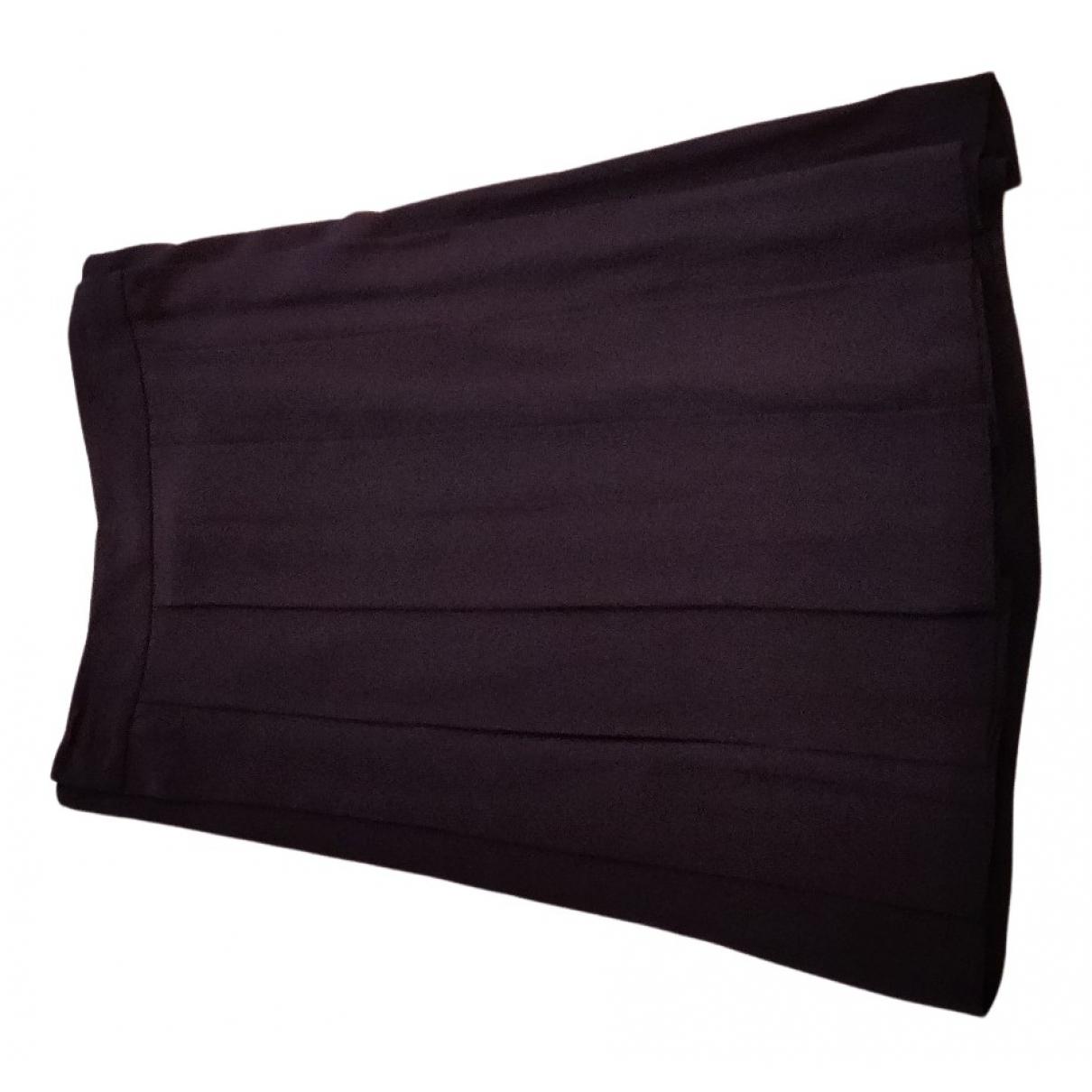 Chloé N Burgundy Silk skirt for Women 40 FR