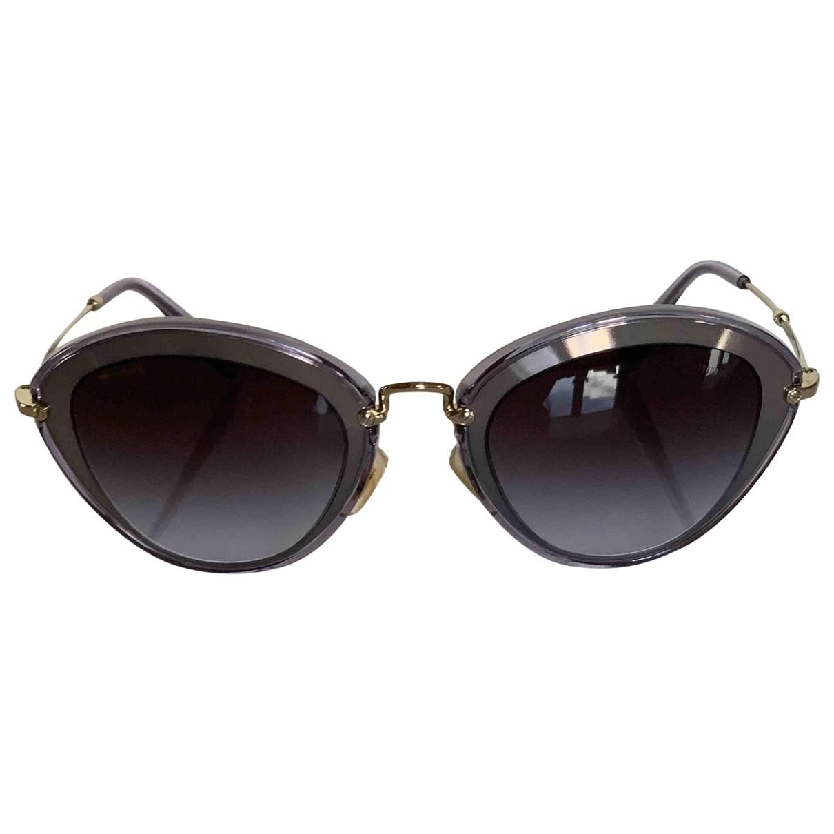 Miu Miu \N Multicolour Metal Sunglasses for Women \N
