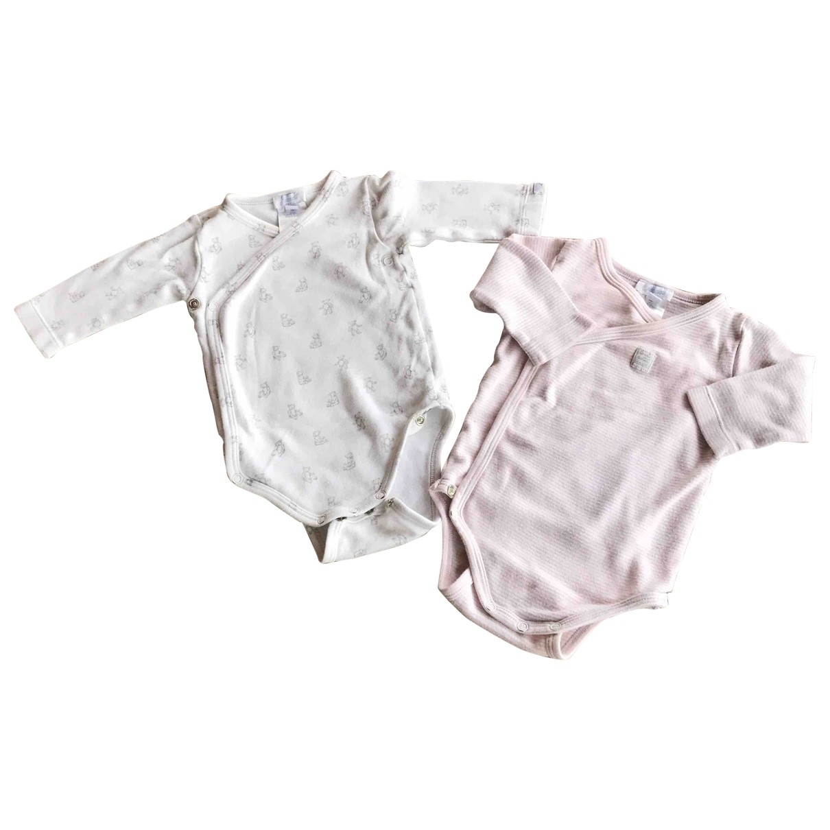 Jacadi - Top   pour enfant en coton - ecru