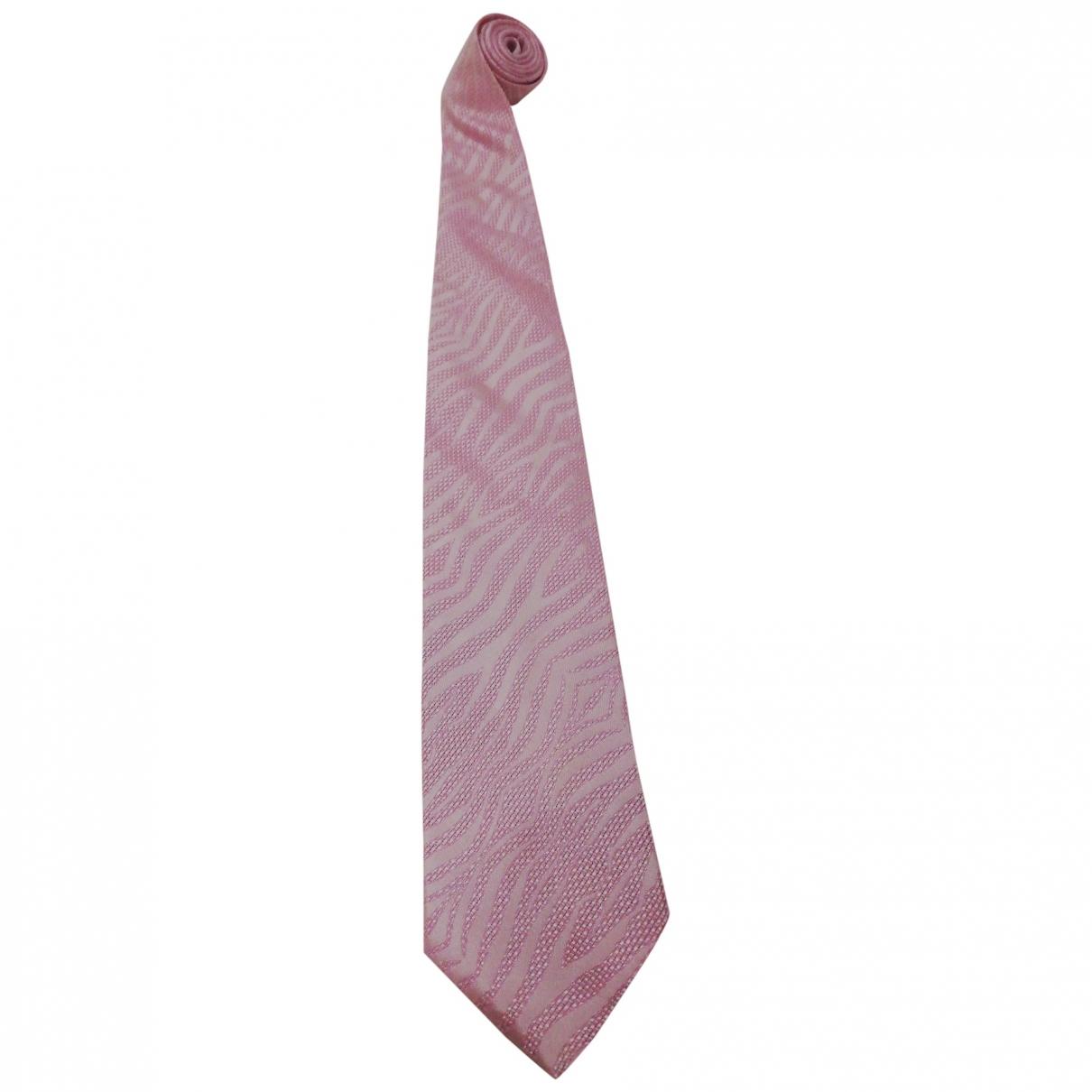 Roberto Cavalli \N Krawatten in  Rosa Seide