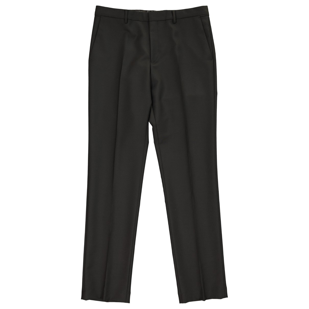 Givenchy N Black Wool Trousers for Men 48 FR