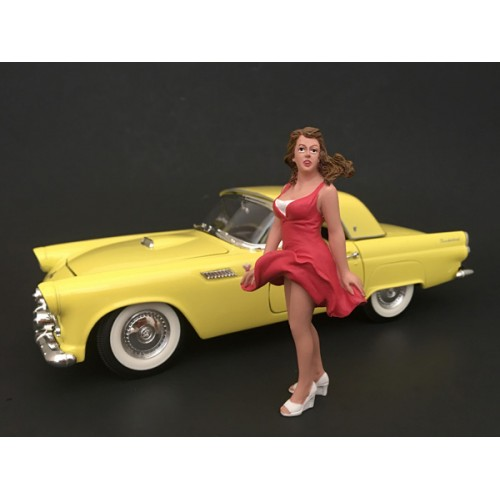 70s Style Figurine VIII for 1/18 Scale Models by American Diorama