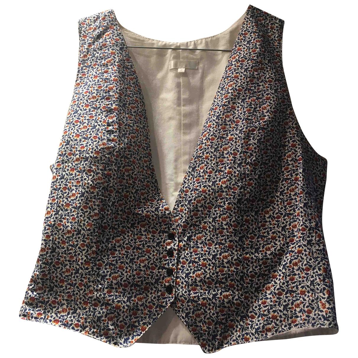 Claudie Pierlot \N Multicolour Cotton  top for Women 38 FR