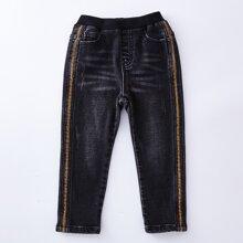 Toddler Boys Tape Side Jeans