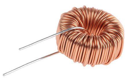 Wurth Elektronik Wurth 220 μH ±20% Ferrite, Iron Powder Leaded Inductor, 2A Idc, 160mΩ Rdc, WE-FI (5)