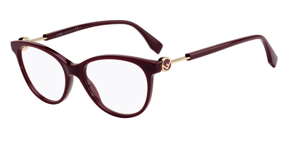 Fendi FF 0347 0T7 Women's Glasses Violet Size 52 - Free Lenses - HSA/FSA Insurance - Blue Light Block Available