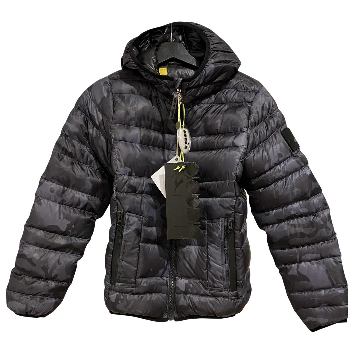 Diadora - Blousons.Manteaux   pour enfant - gris