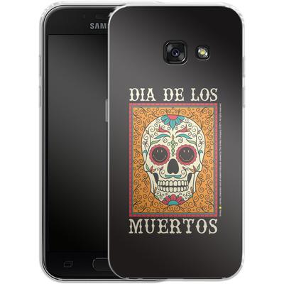 Samsung Galaxy A3 (2017) Silikon Handyhuelle - Dia De Los Muertos von Smiley®