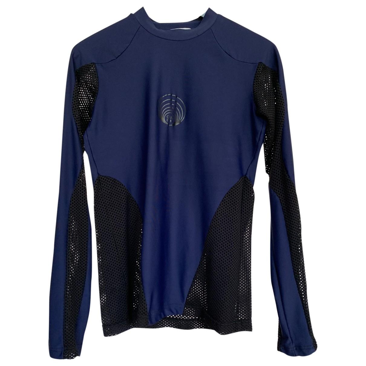 Gmbh \N T-Shirts in  Blau Synthetik