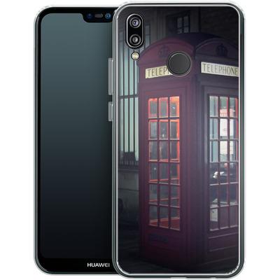 Huawei P20 Lite Silikon Handyhuelle - London Calling 2 von Ronya Galka