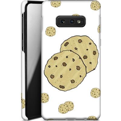 Samsung Galaxy S10e Smartphone Huelle - Cookies von caseable Designs
