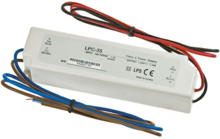 Mean Well Constant Current LED Driver 33.6W 9 → 48V