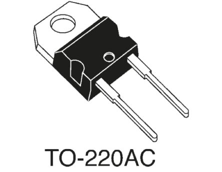 IXYS 45V 25A, Schottky Diode, 2-Pin TO-220AC DSS25-0045A (5)