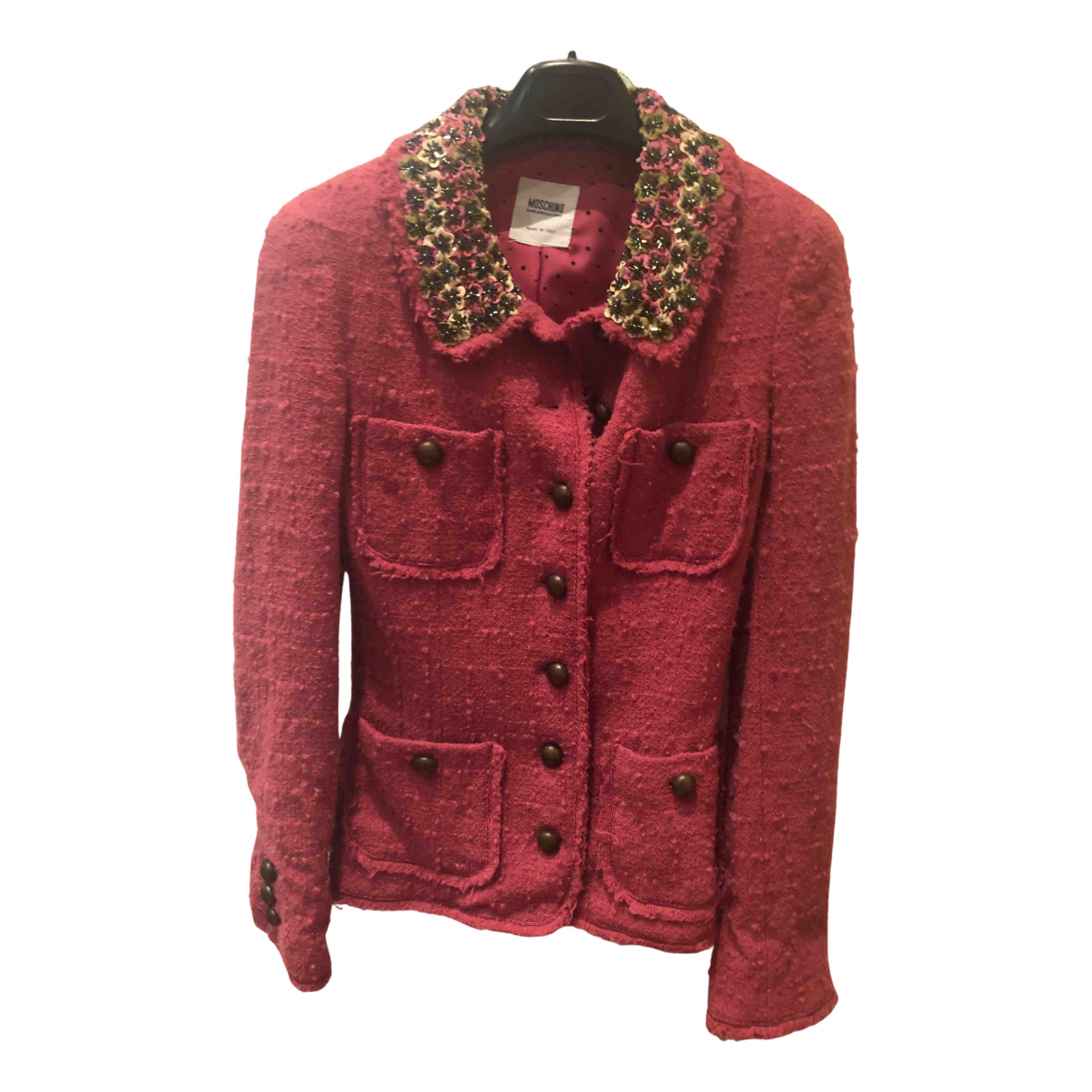 Moschino Cheap And Chic N Wool jacket for Women 42 IT