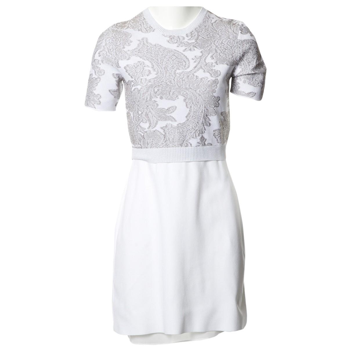 Louis Vuitton \N Kleid in  Weiss Synthetik