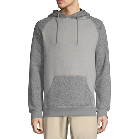 Victory Colorblock Heather Fleece Hoodie Pullover, Xx-large , Black