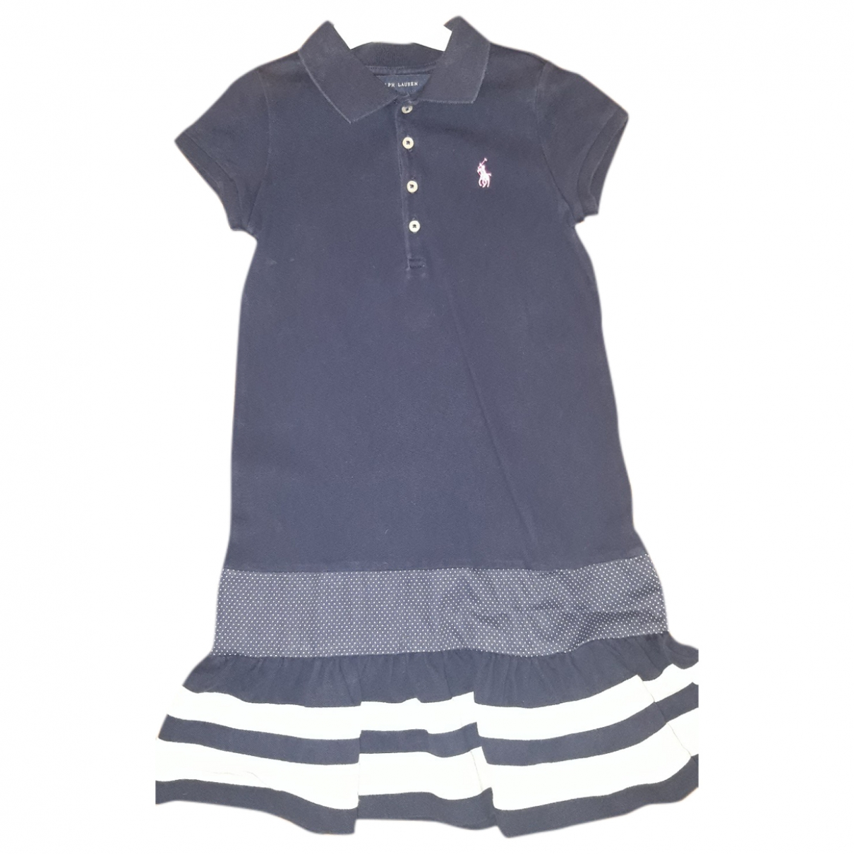 Ralph Lauren \N Blue Cotton dress for Kids 5 years - up to 108cm FR