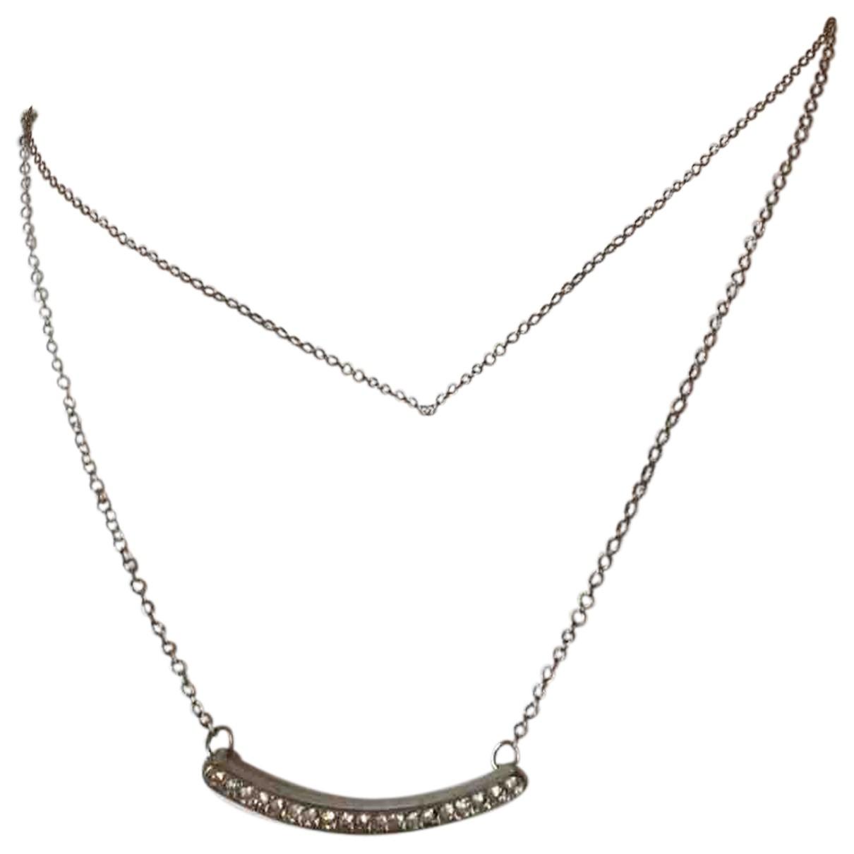 - Collier Chaines pour femme en acier - argente