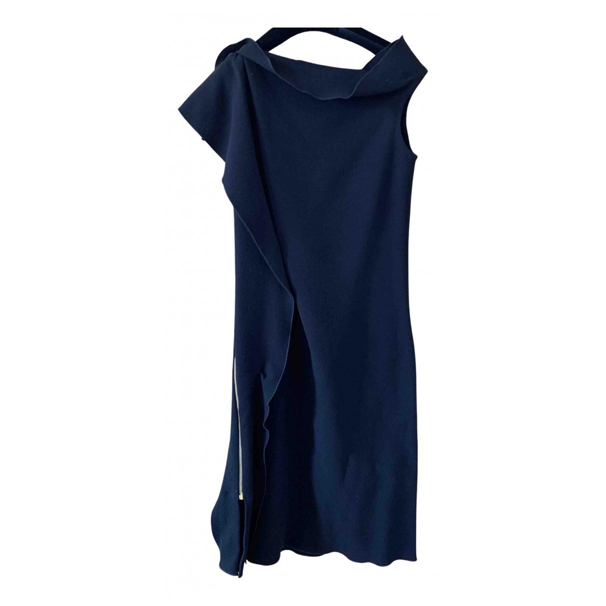 Roland Mouret N Black Wool dress for Women 42 IT