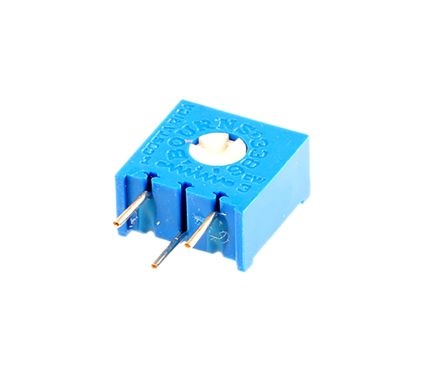 Bourns 1 Gang Trimmer Cermet Potentiometer - 1MΩ, ±10%, 0.5W Power Rating, Linear, Through Hole
