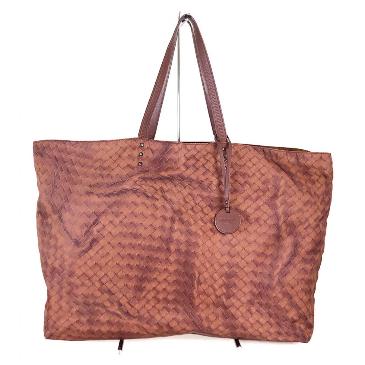 Bottega Veneta \N Brown Cloth handbag for Women \N