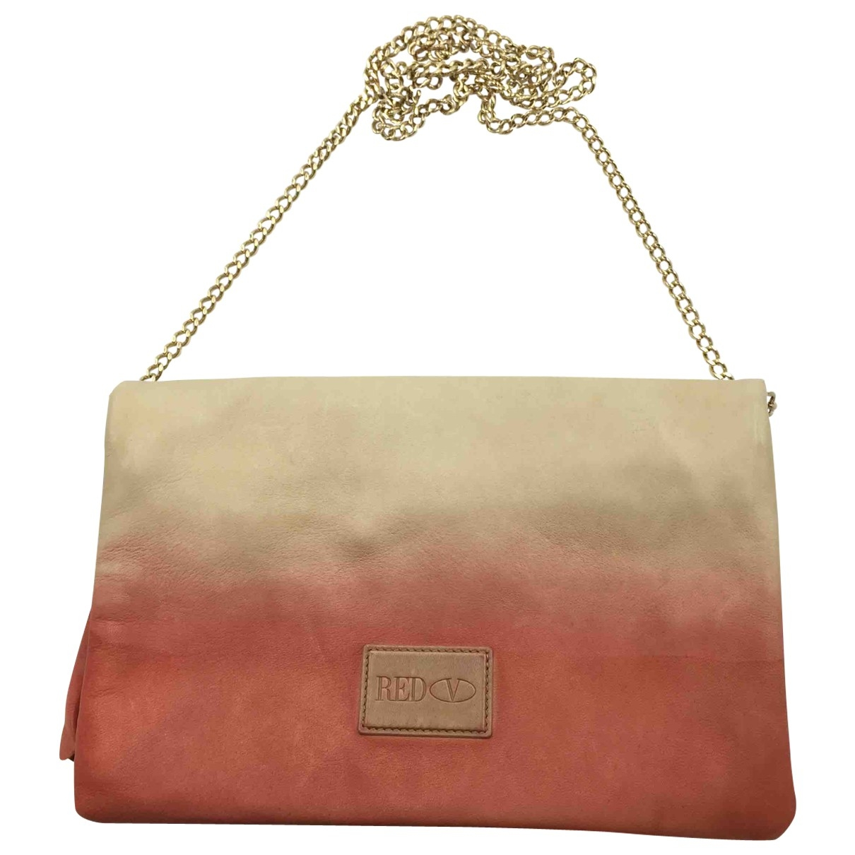 Red Valentino Garavani \N Pink Leather handbag for Women \N