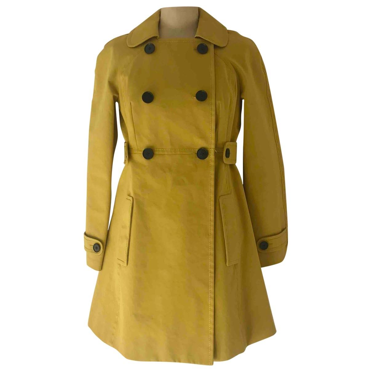 Paul Smith - Trench   pour femme en coton - jaune