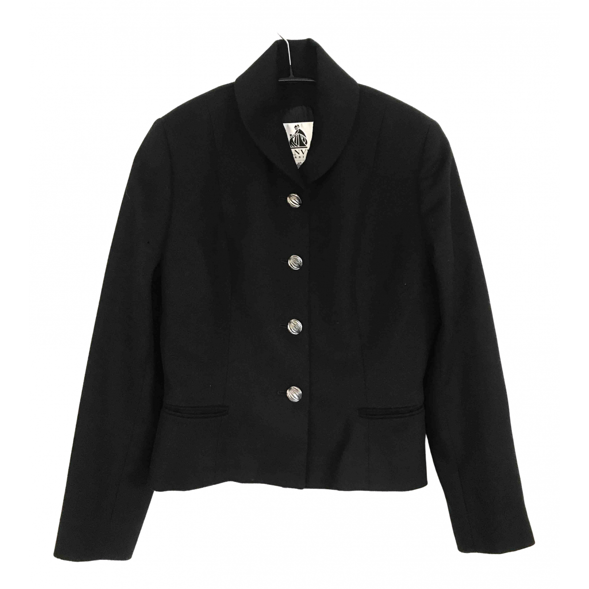 Lanvin N Black Wool jacket for Women 40 FR