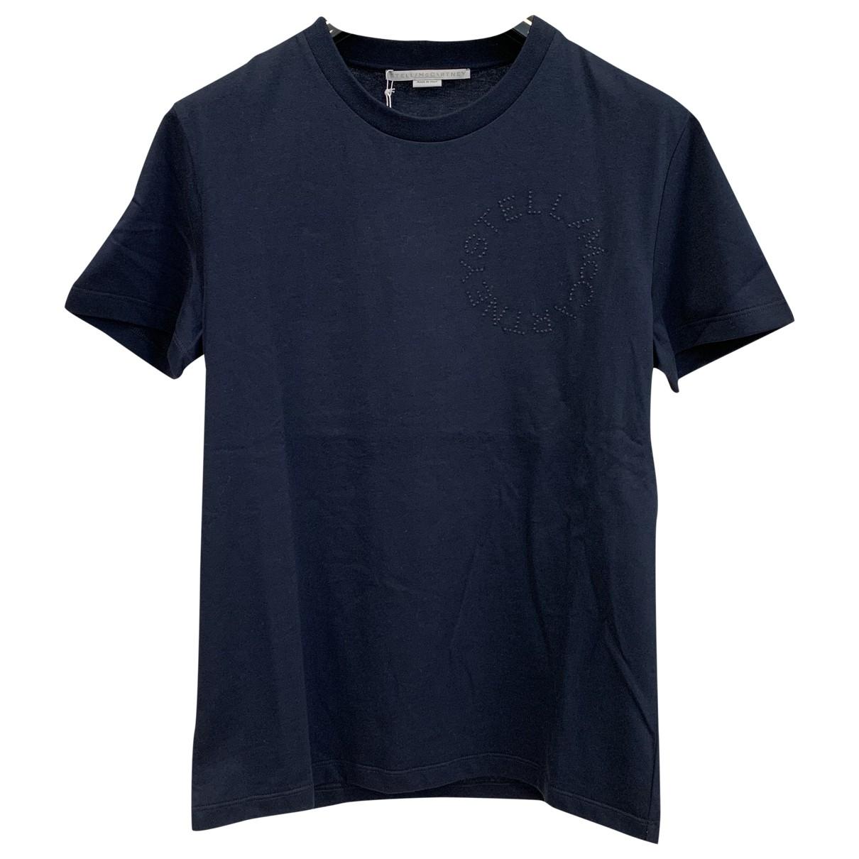Stella Mccartney \N T-Shirts in  Blau Baumwolle