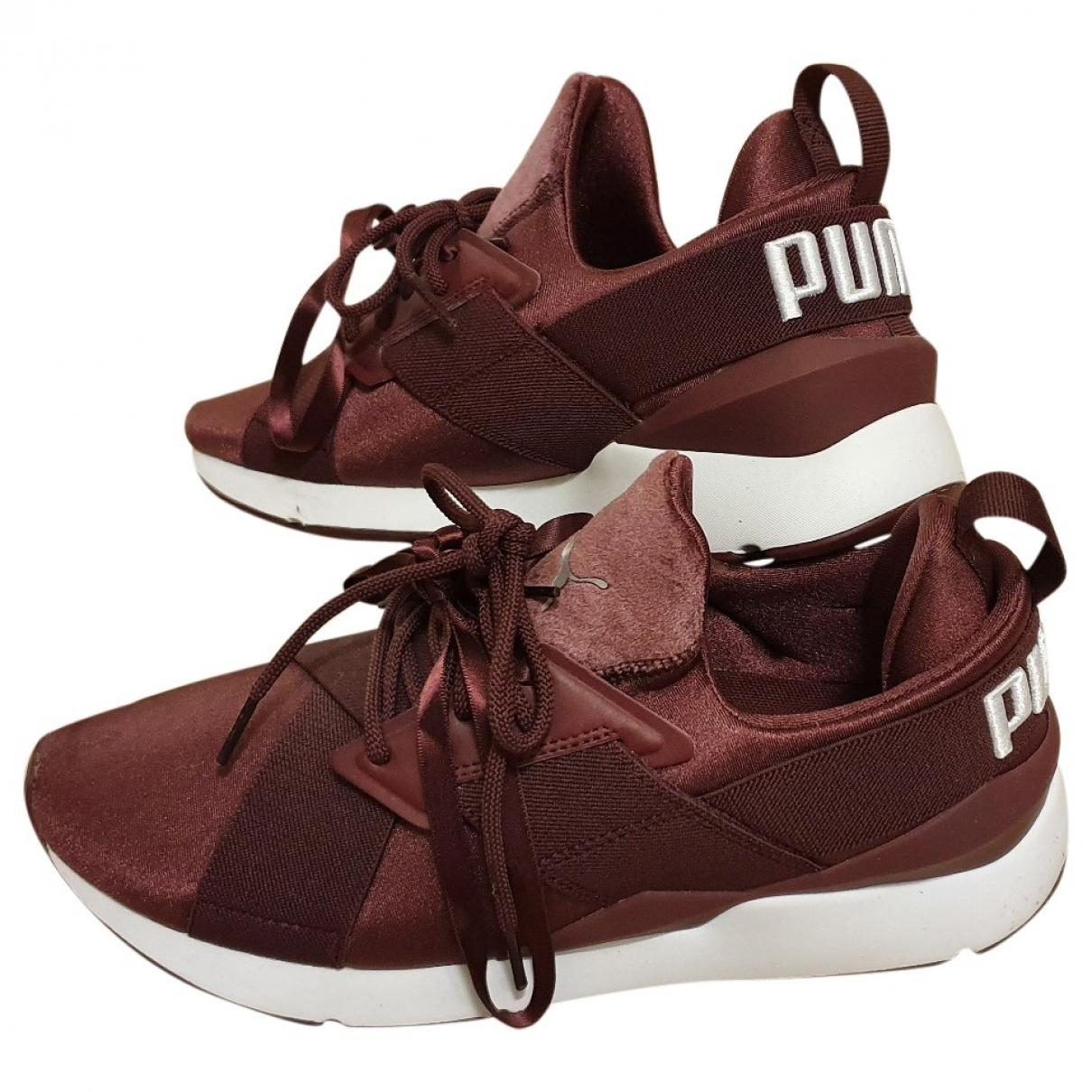 Puma - Baskets   pour femme - bordeaux