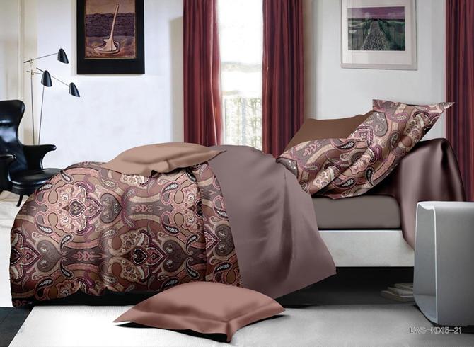 Stylish Paisley Print Polyester 4-Piece Duvet Cover Sets