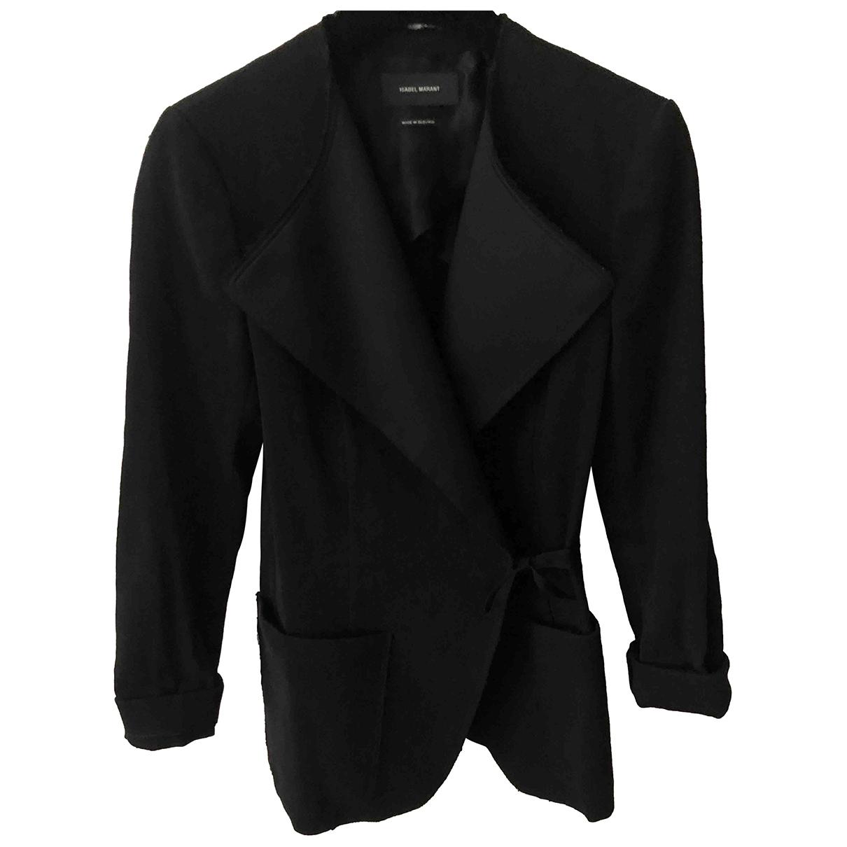 Isabel Marant - Veste   pour femme en lin - noir