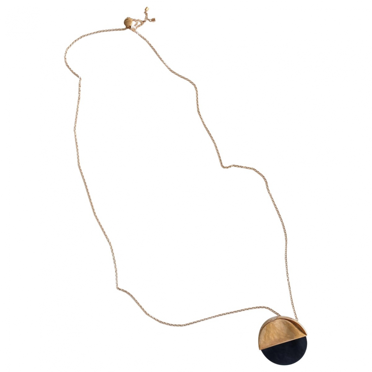 Calvin Klein \N Gold Metal Long necklace for Women \N