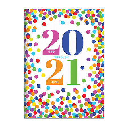 Tf Publishing July 2020 - June 2021 Confetti Dot Medium 7.5