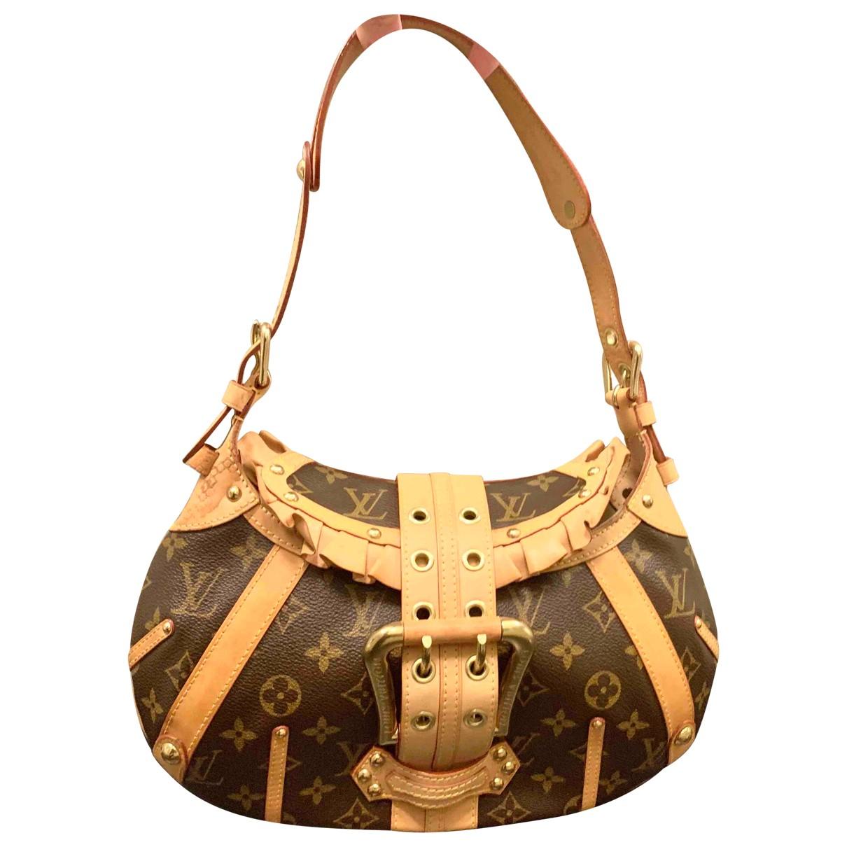 Louis Vuitton Leonor Brown Cloth handbag for Women N